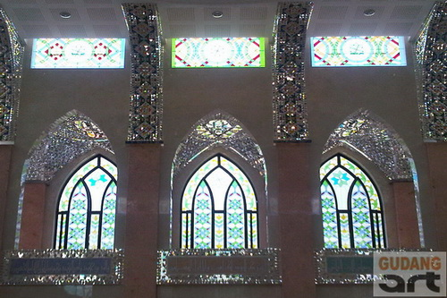 harga kaca patri masjid