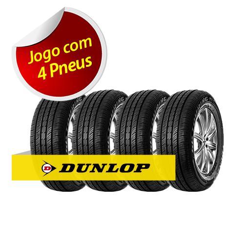 Kit Pneu Aro 13 Dunlop: Excelente aderência em condições molhadas