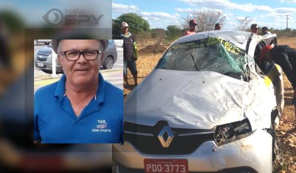 Taxista de Petrolina morre em acidente - Portal SPY