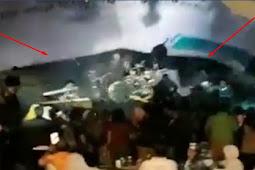 Detik-detik Tsunami Selat Sunda Hantam konser Seventeen