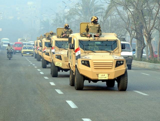 الرئيس يقرر الدفع بوحدات خاصة من الجيش لمعاونة الشرطة فى تأمين المنشآت