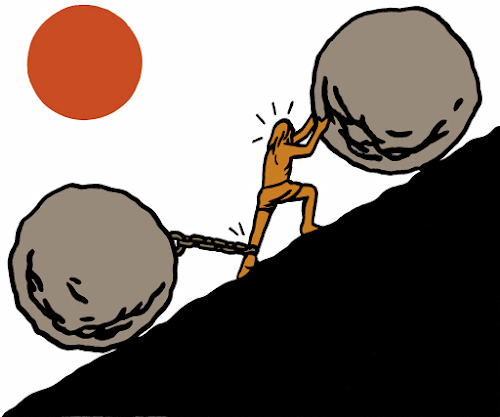 Time management Sisyphus