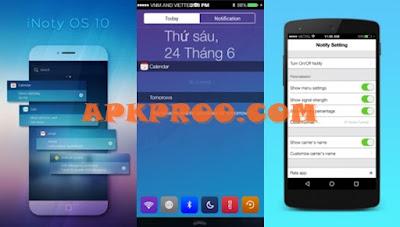 Download iNoty Untuk Mengubah Android Seperti iPhone