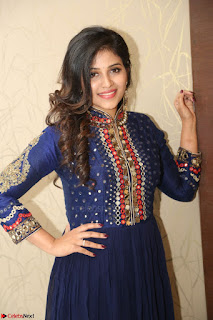 Anjali looks super cute at Chitrangada Pre Release Function March 2017 057.JPG