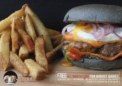 myBurgerLab Free Burger Birthday Month Purchase Promo