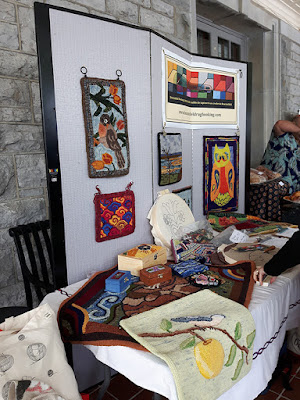 Rug Hooking Demo and Display