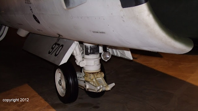 A-7D walk around - nose gear photo