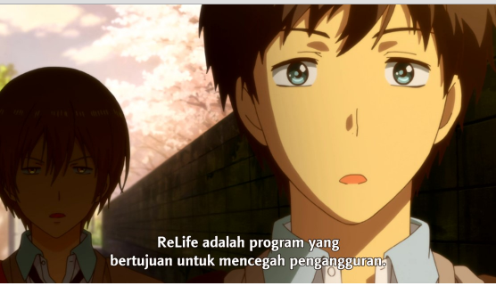Download Anime ReLIFE 1 Subtitle Indonesia