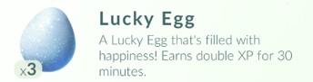 Pokemon GO: Lucky Egg