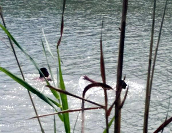 Photos: Man Nearly Drowns As He Tried Crossing Into US From Mexican Border Via River