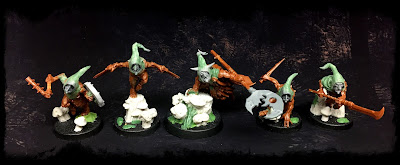 Moonclan Grots Warband - Warhammer Underworld Conversions