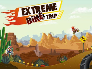 Screenshots of the Extreme Bike Trip for Android tablet, phone.