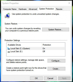 Cara Menghapus Restore Point di Windows 10