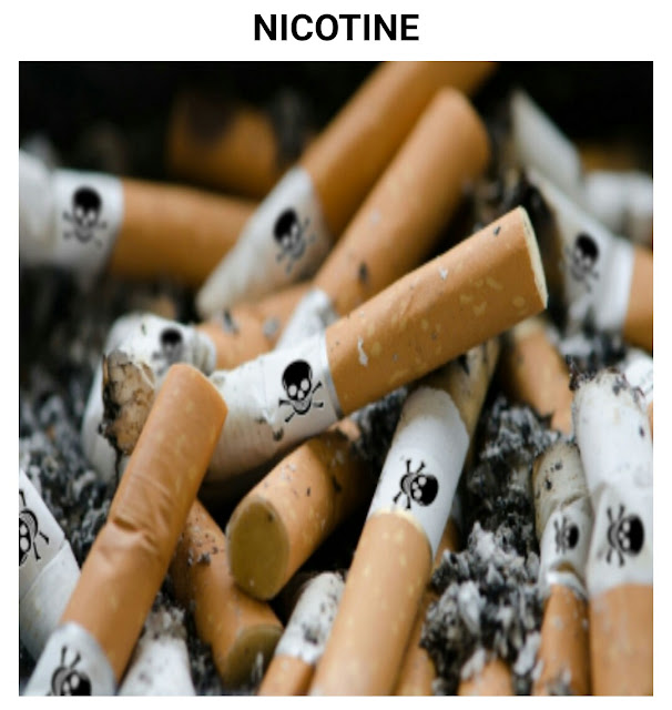 Continuat...on Drugs addiction: Nicotine- Drugs of various kinds that people often use and what those specific drugs can do.  (Part 4)
