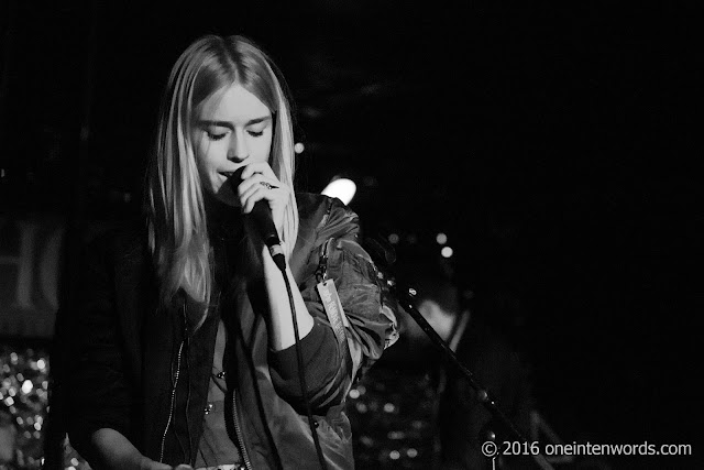 The Big Pink at The Horseshoe Tavern in Toronto, March 2 2016 Photos by John at One In Ten Words oneintenwords.com toronto indie alternative live music blog concert photography pictures