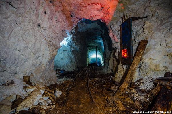 Лермонтовский рудник, штольня №26