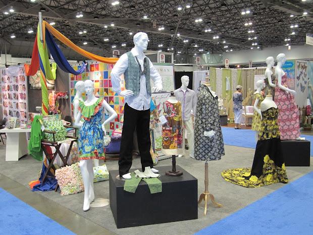 Freespirit Fabric Spring Quilt Market 2012; Visual