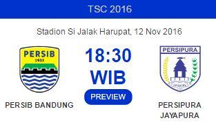 Persib Bandung Menjamu Persipura Jayapura di Stadion Si Jalak Harupat