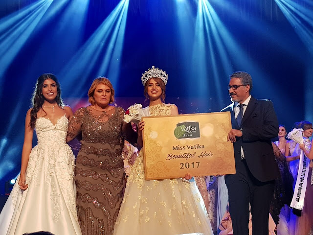 Dabur Egypt crowns Miss Egypt 2017 Farah Shaban as Miss Vatika Beautiful