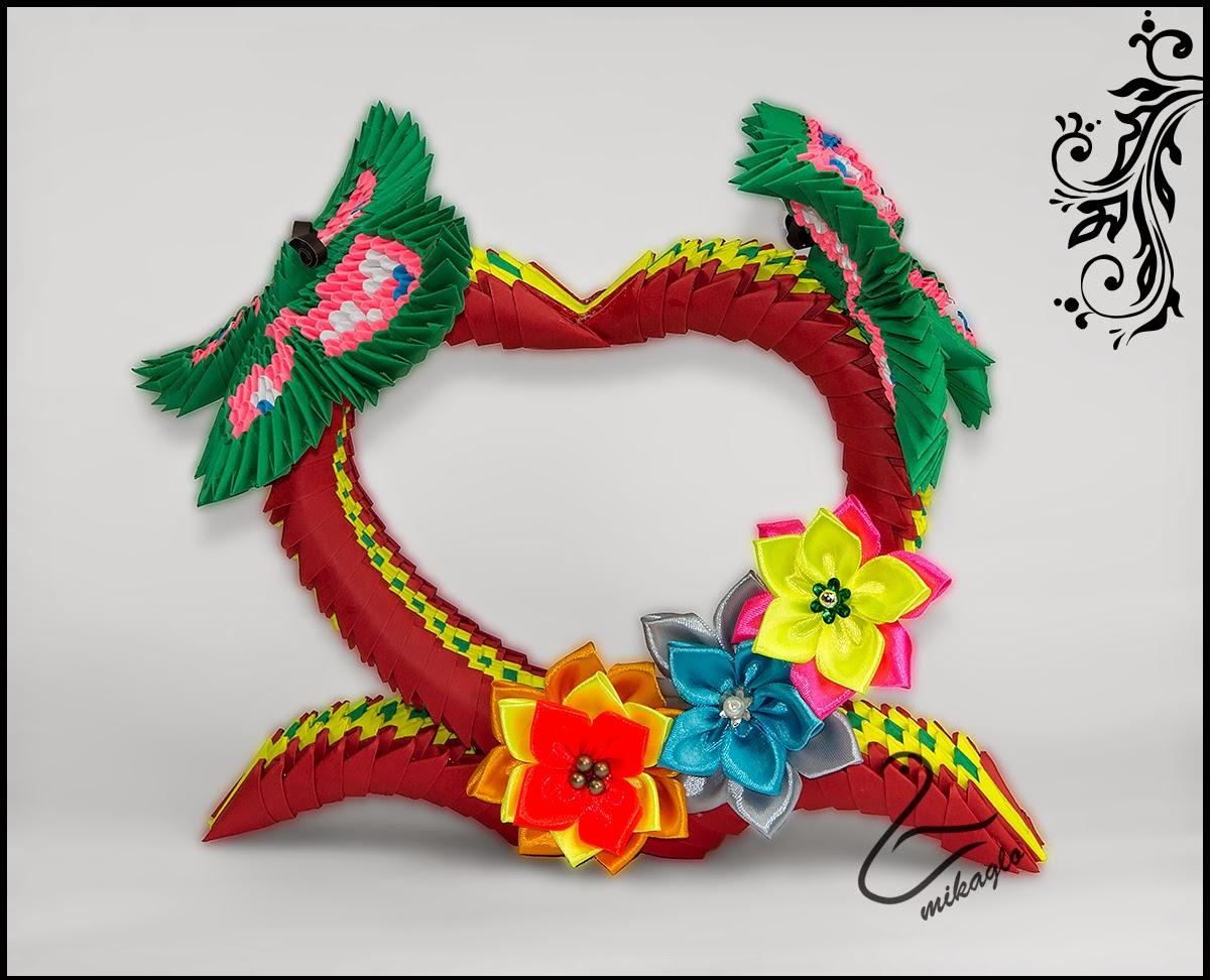 Origami 3d - mikaglo: 75. Serce dla Mamy z origami / 3d ... - photo#26