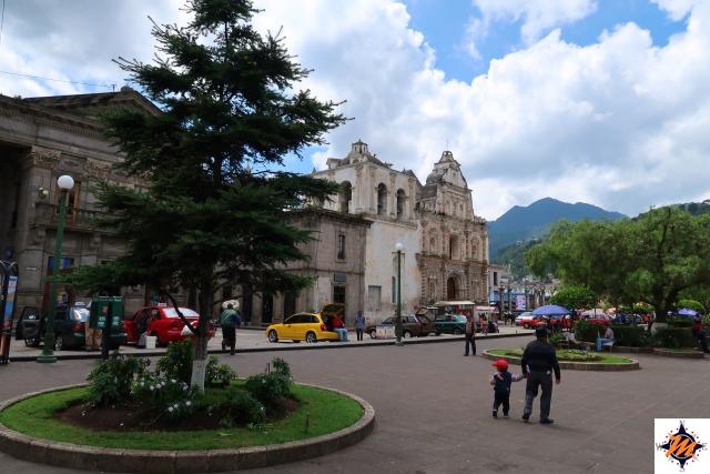 Quetzaltenango, Parque Centro América