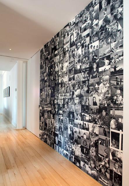 แต่งผนังห้องด้วยรูปถ่าย
