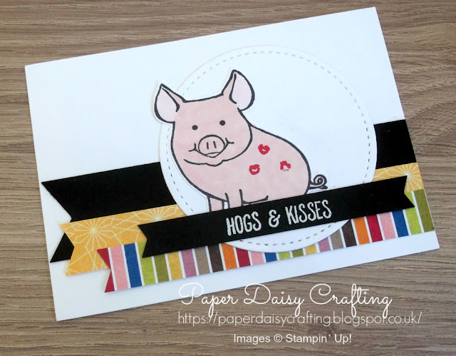This little Piggy stamp set from Stampin' Up!