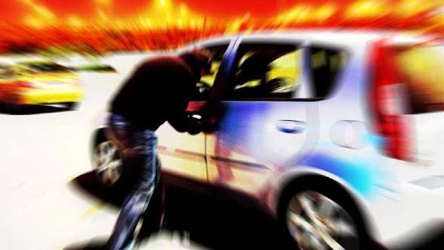 Policia Militar recupera carro roubado e manda 3 vagabundos pra cadeia
