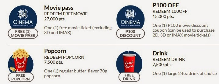 sm cinema rewards