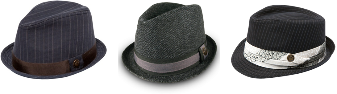 39d447f46b5 Keep your head warm in a Prohibition Hats NZ fedora or trilby. We have a  great range of wool fedoras that are guaranteed to finish off any outfit  and keep ...