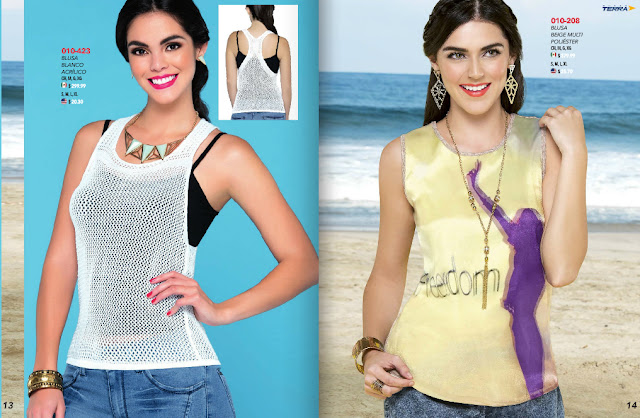 catalogo look terra ropa damas