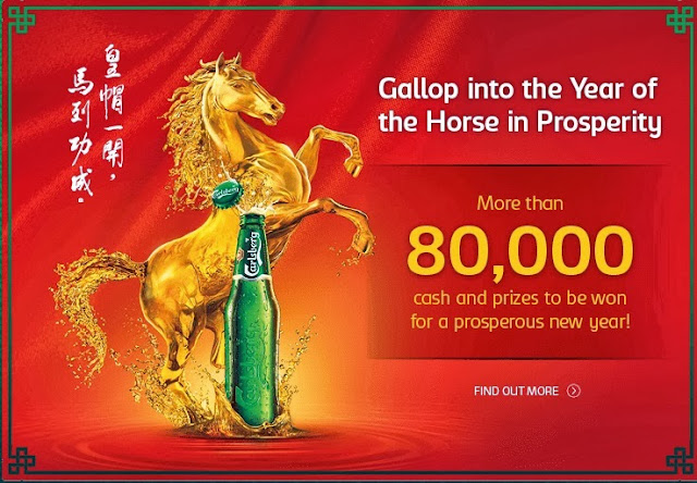 Carlsberg Malaysia 2014 Chinese New Year Promotional Campaign