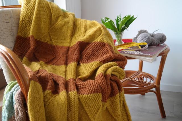 Pled robiony na drutach