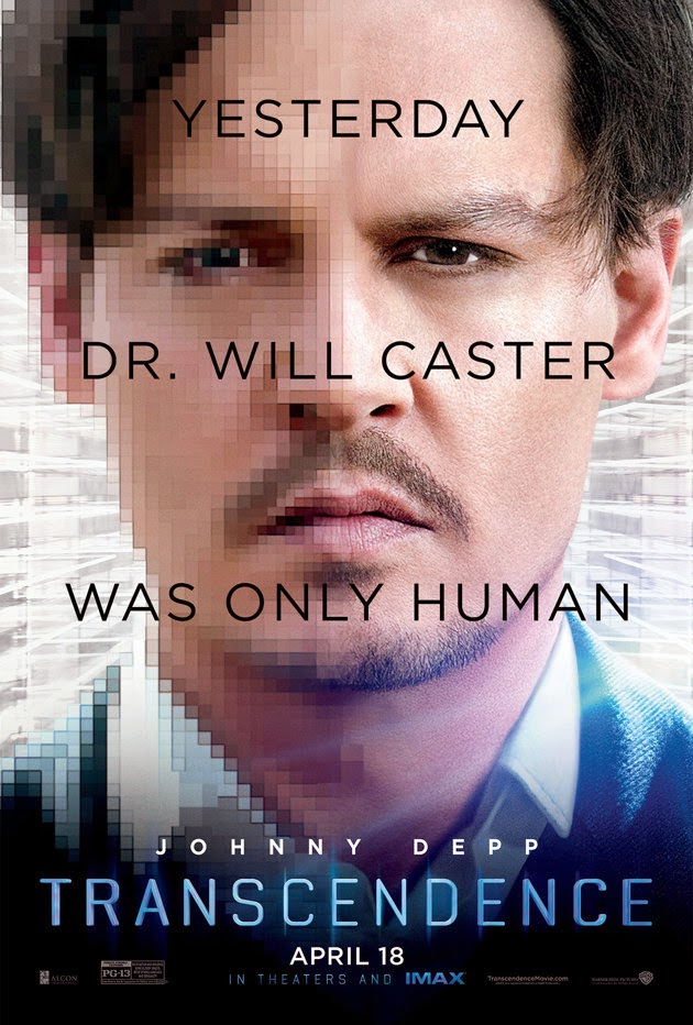 Transcendence movie review Johnny Depp