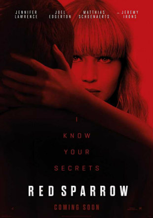 Red Sparrow 2018 Full Hollywood English Movie Download HDCAM