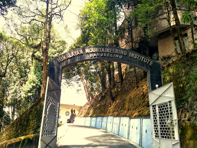 Entrance of Himalayan Mountaineering Institute