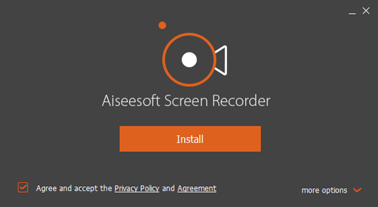 Aiseesoft Screen Recorder Install