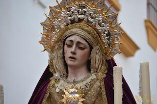 Resultado de imagen de Rosario Vespertino de Nuestra Señora del Desconsuelo y Visitación