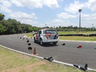14º BPM/I realiza curso de direção policial preventiva para viatura policial