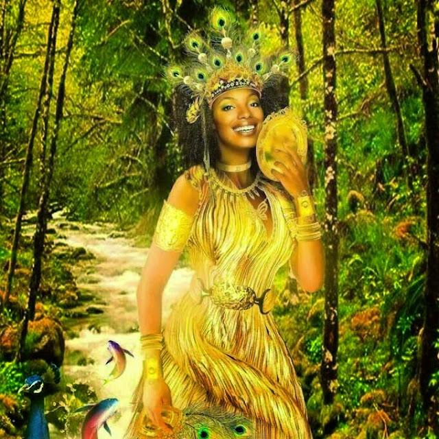 Oshun Goddess images