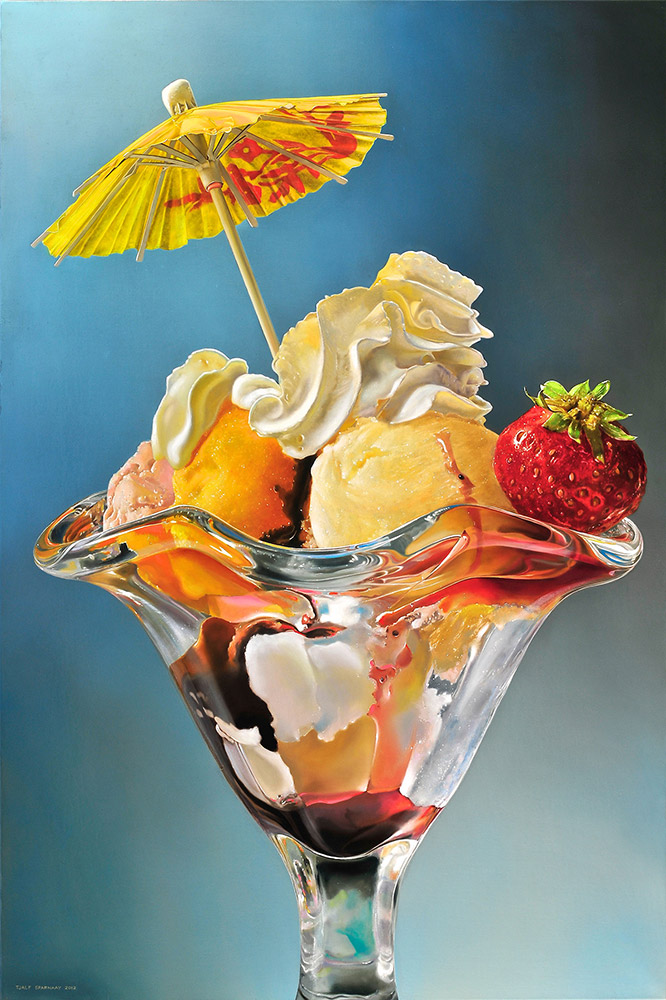10-The-Sorbet-Tjalf-Sparnaay-The-Beauty-of-the-Everyday-Paintings-of-Food-Art-www-designstack-co