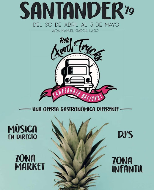 Reto Food Trucks Santander'19
