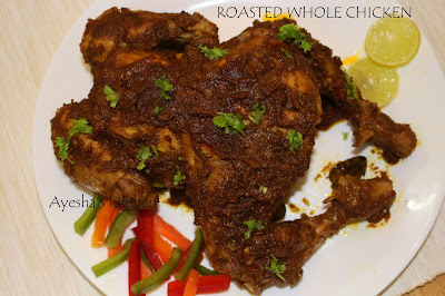 chicken roast roasted whole chicken recipes ayeshas kitchen chicken recipes yummy recipes for dinner meal