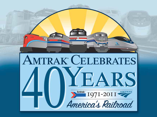 Amtrak 40th Anniversary 2011