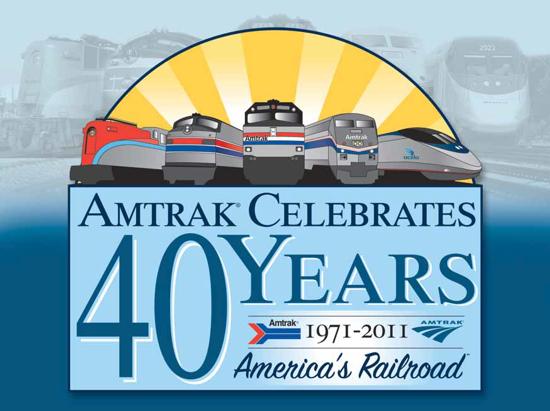 Amtrak 40th Anniversary 2011