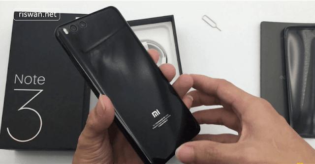 6 Hp Xiaomi RAM 6GB dengan Harga Termurah 2018 - Xiaomi Mi Note 3