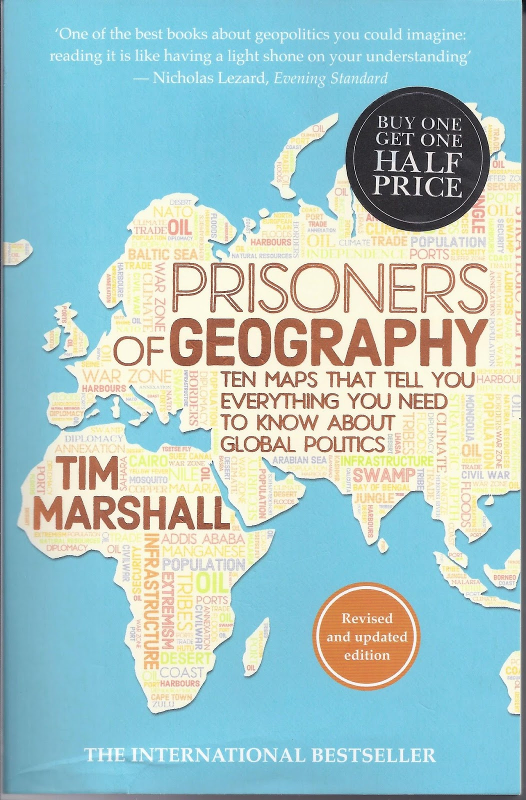 Geography Book Cover Ideas ~ Reading this book cover to review tim