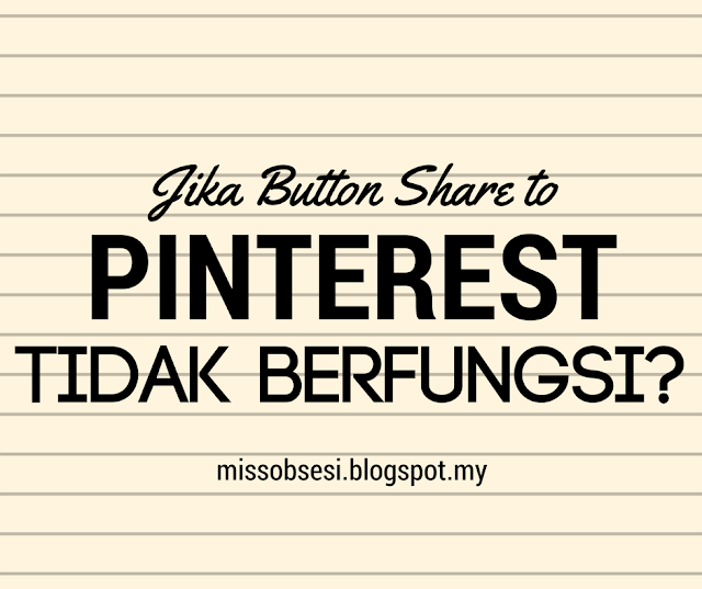 Button Share to Pinterest