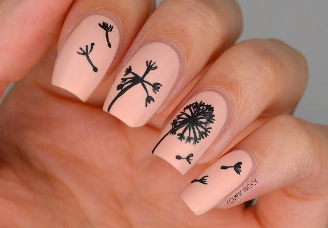 Dandelion Nail Art Ane Li