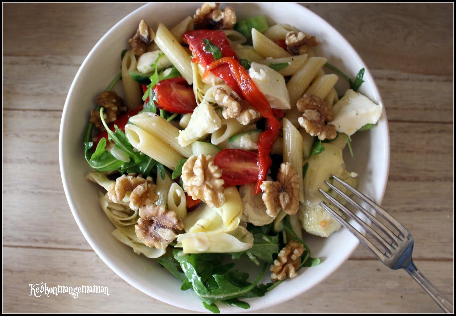 Salade de p tes l 39 italienne blogs de cuisine - Blog de cuisine italienne ...